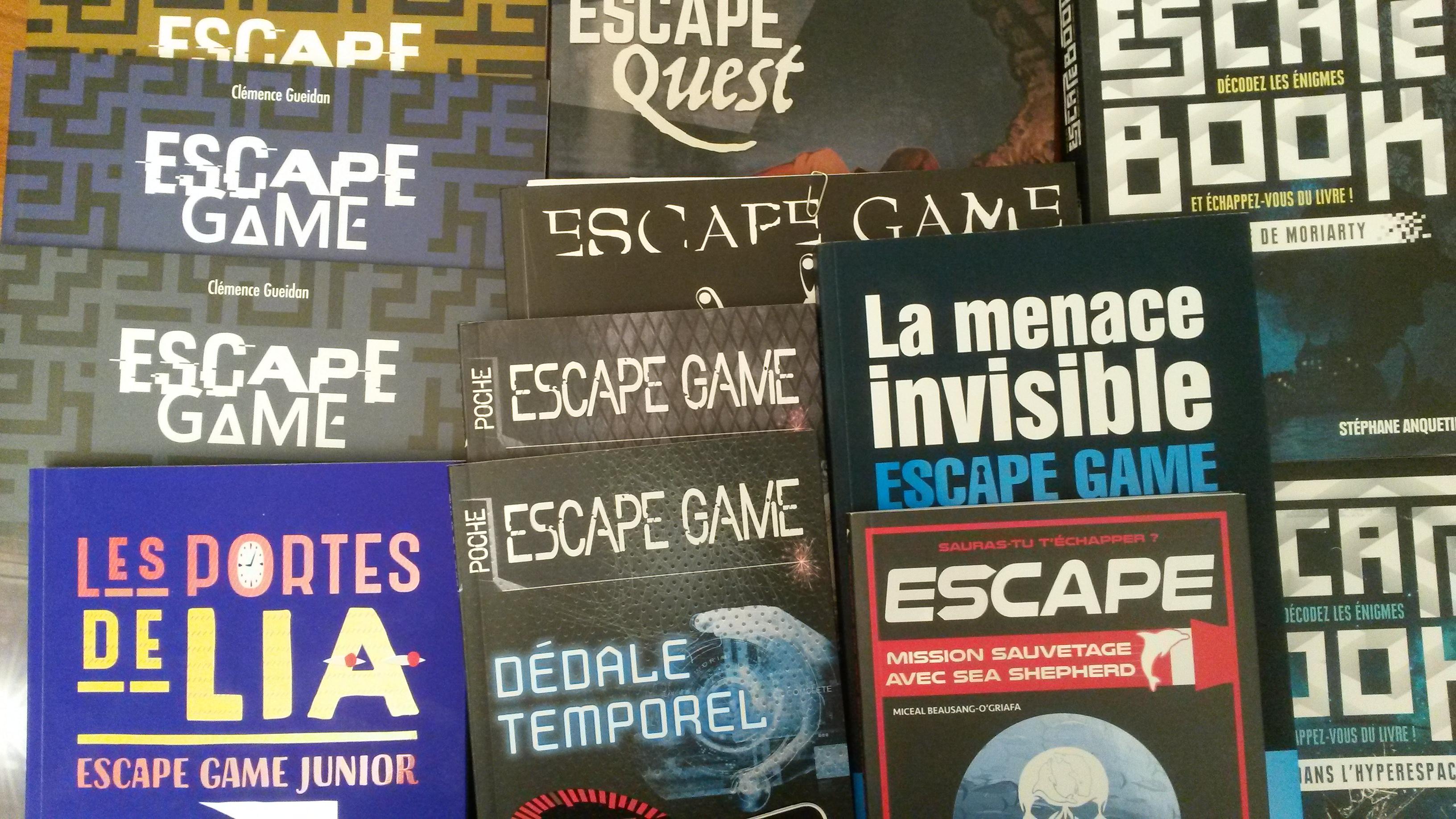 Les Livres Escape De L Ete 2018 Livres Jeux