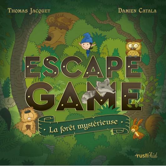 Escape Game La Foret Mysterieuse Livres Jeux