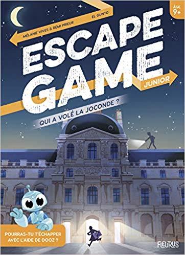 Escape Game Qui A Vole La Joconde Livres Jeux