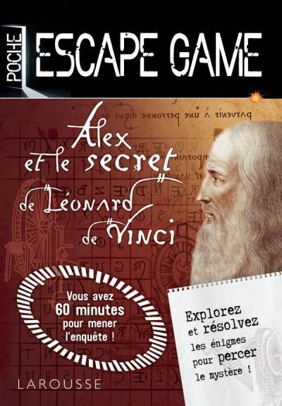 Escape Game Poche Alex Et Le Secret De Leonard De Vinci